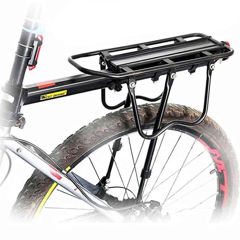 Bike Accessories: Rear Bike Rack Luggage Carrier